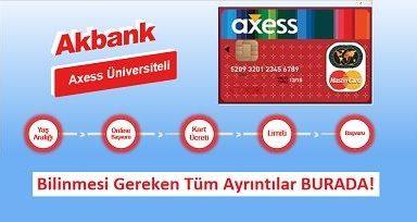 Akbank öğrenci kredi kartı limiti