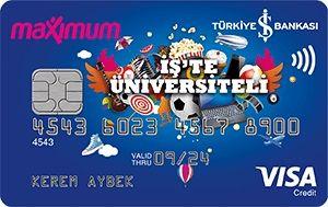 İş Bankası öğrenci kredi kartı başvuru