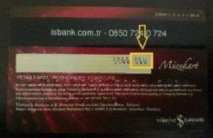 kredi kartı cvv kodu öğrenme